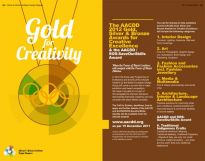 AACDD Gold, Silver and Bronze Awards for Creative Excellence